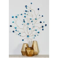 Havenside Home Buckroe Metal Glass Bead Wall Decor