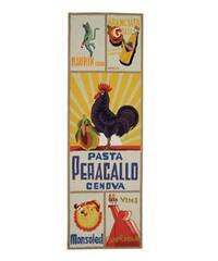 Safavieh Hand-hooked Vintage Poster Ivory Wool Runner Rug - 2'6 x 10'
