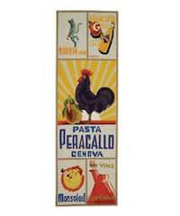 Safavieh Hand-hooked Vintage Poster Ivory Wool Runner (2'6 x 12')