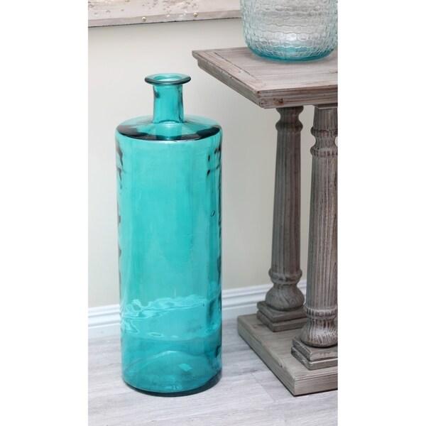 Porch & Den Mola Blue Bottle Vase