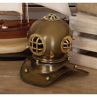 Carbon Loft Lippershey Brass Diving Helmet Decor