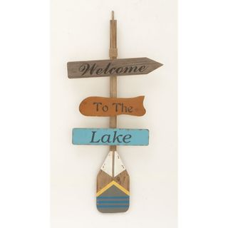 Copper Grove Sharbot Wood Wall Decor Lake