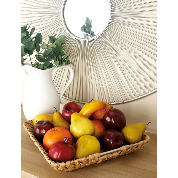 The Curated Nomad Biltmore 3-piece Short Seagrass Basket Set