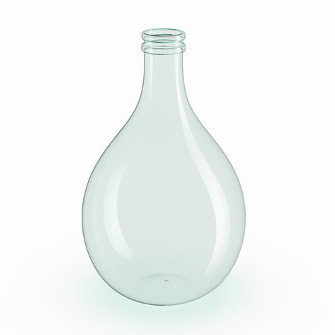 The Gray Barn Cocklebur Clear Glass Cylindrical Vase (17'' x 11'')