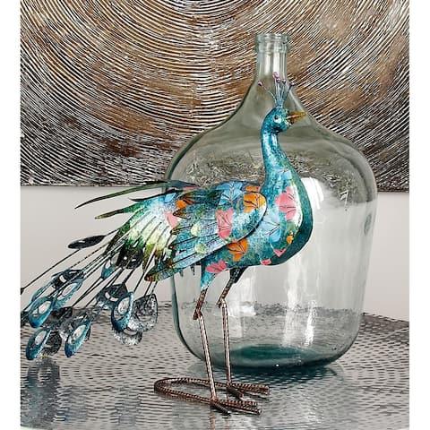 The Gray Barn Cocklebur Cylinder Bottle Spouted Glass Vase