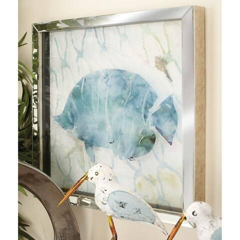 Porch & Den Mola 2-piece Polystone Frame Mirror Art