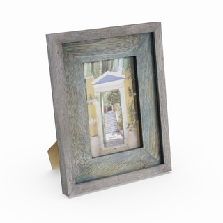 The Gray Barn Cocklebur Teal-finished Wood Picture Frame (7'' x 9'')
