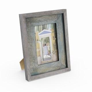 Havenside Home Buckroe Teal-finished Wood Picture Frame (7'' X 9'')