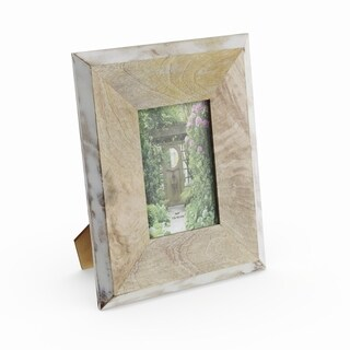 The Gray Barn Cocklebur 2-toned Wood Picture Frame (8'' X 10'')