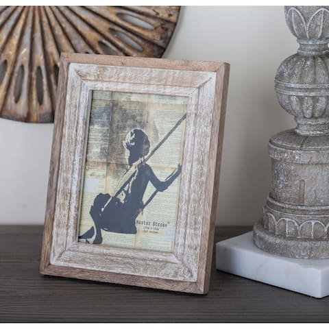 The Gray Barn Cocklebur Antiqued Wood Picture Frame (7'' x 9'')