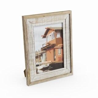 Havenside Home Buckroe Antiqued Wood Picture Frame (7'' x 9'')