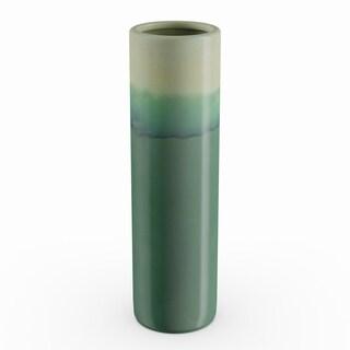 Carson Carrington Andalsnes Ceramic Green Vase (4'' X 14'')