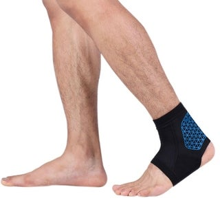 Reflective Cycling Ankle Support Pad