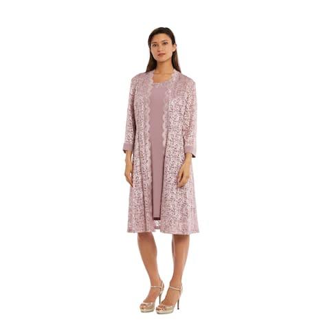 RM Richards 3269 Champagne Jacket Dress