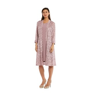 RM Richards 3269 Champagne Jacket Dress