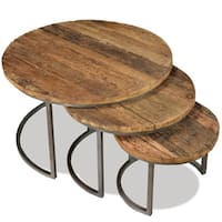 Tania 3 Piece Nesting Coffee Tables