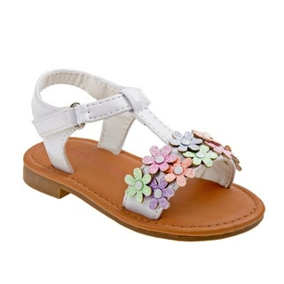 Laura Ashley Girl Toddler T-Strap Sandal (4 options available)