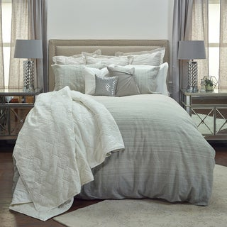 Rizzy Home Sebastian Duvet Cover - King - Natural/Charcoal