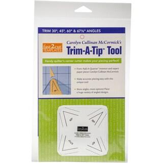C&T Publishing fast2cut Tools Trim-A-Tip Tool