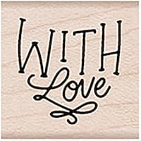 """Hero Arts Mounted Rubber Stamp 1.125""""X1.125"""""""