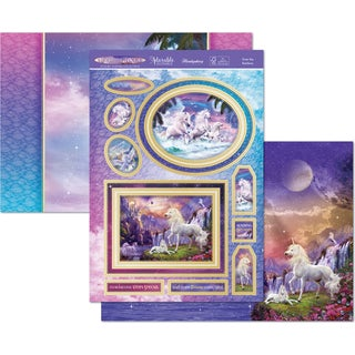 Hunkydory Unicorn Utopia A4 Topper Set