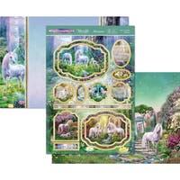 Hunkydory Unicorn Utopia A4 Topper Set