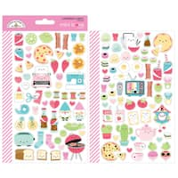 Doodlebug Mini Cardstock Stickers