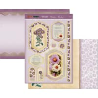 Hunkydory Birth Flowers A4 Topper Set