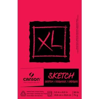 "Canson XL Sketch Foldover Pad 5.5""X8.5"""