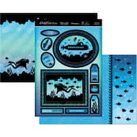 Hunkydory Twilight Under The Sea A4 Topper Set
