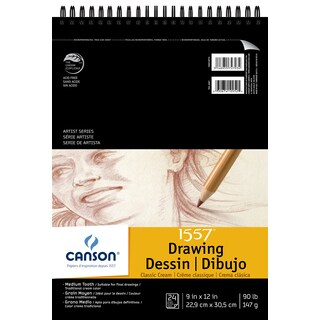 """Canson Artist Series Drawing Pad 9""""X12"""""""