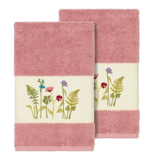 Rose Embroidered Towels: Shop Authentic Hotel And Spa Rose Turkish Cotton