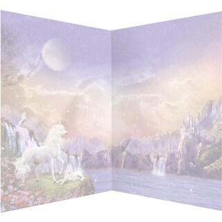 Hunkydory Unicorn Utopia A4 Card Inserts 16/Pkg