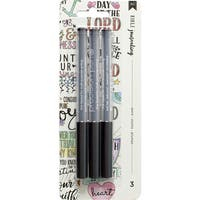 American Crafts Bible Journaling Precision Pens 3/Pkg
