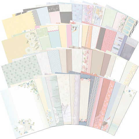 Hunkydory Moments & Milestones A4 Card Inserts 40/Pkg