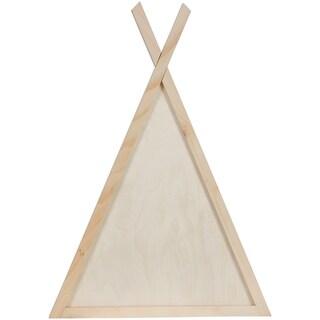 Pine W/Baltic Birch Center Teepee Frame