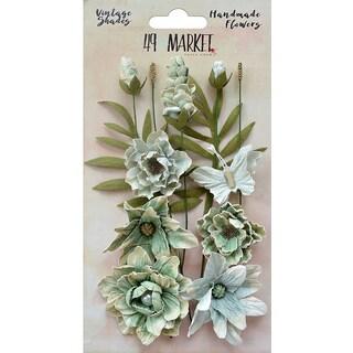 49 And Market Vintage Shades Cluster Flowers 13/Pkg
