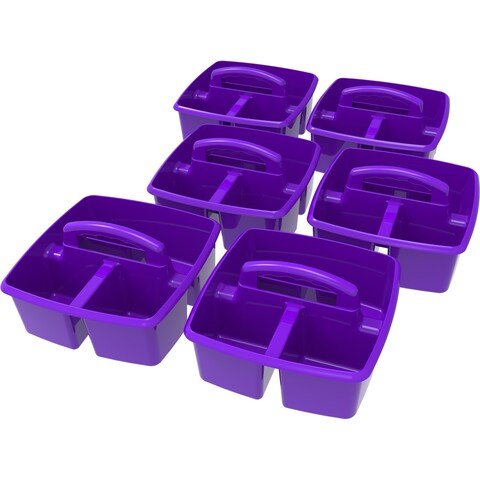 Storex Classroom Caddy/ Purple (6 units/pack)
