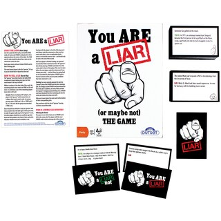 You Are A Liar (or Maybe Not) Game