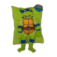 Nickelodeon Teenage Mutant Ninja Turtles Retro Leonardo Character Pillow
