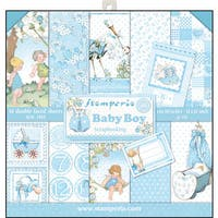 """Stamperia Double-Sided Paper Pad 12""""X12"""" 10/Pkg"""