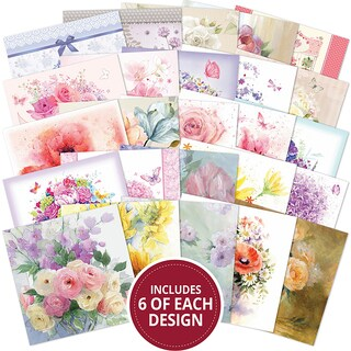 """Hunkydory The Square Little Book Of 5""""X5"""" Paper Pad 150/Pkg"""
