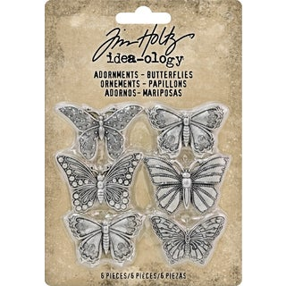 "Idea-Ology Metal Adornments 1"" 6/Pkg"