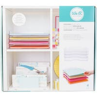 Stackable Acrylic Paper Trays Retail Packaged 4/Pkg