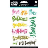 Illustrated Faith Fruit Of The Spirit Clear Stickers