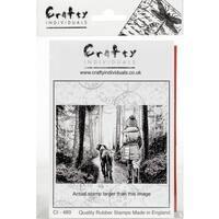 "Crafty Individuals Unmounted Rubber Stamp 3.5""X5"" Pkg"