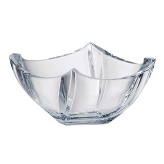 "Majestic Gifts European High Quality Crystalline Glass Square Bowl-4.5"" Diameter"