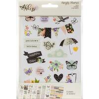"Bliss Stickers 4""X6"" 8/Pkg"