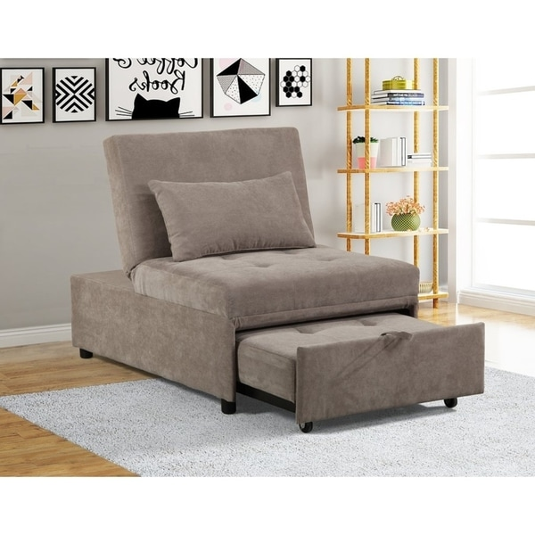 Mini Max Decor Modern 2 In 1 Pullout Sofa