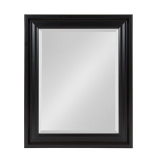 Umber Framed Rectangle Beveled Vanity Wall Mirror